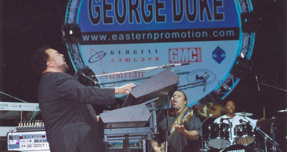 George Duke Band Tbilisi Jazz Festival